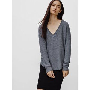 Aritzia Wilfred Galois Sweater blue